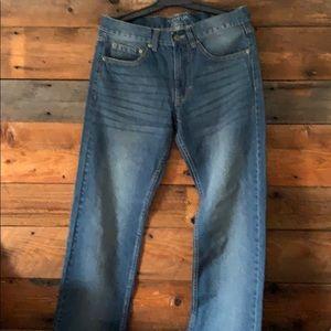 George straight leg jeans